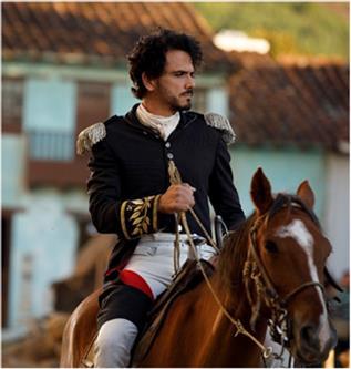 Juan Fernando Sánchez, interpreta al gran militar José María Córdova