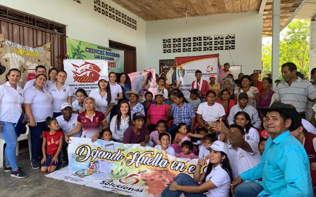 Programa de seguridad alimentaria Gobernación del Tolima