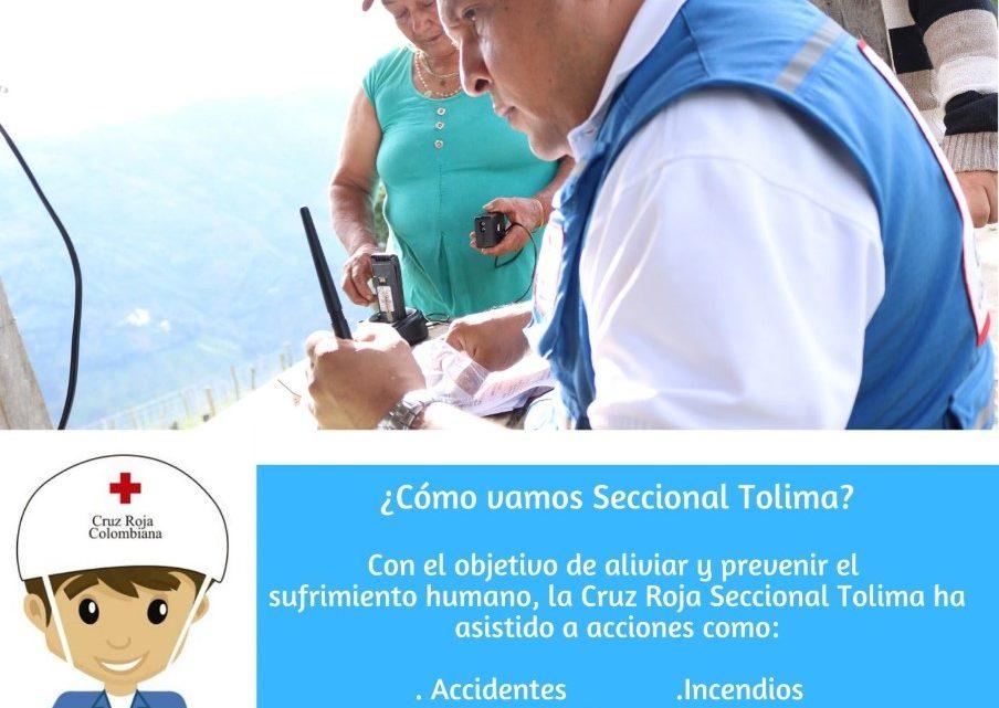 Cruz Roja Colombiana Seccional Tolima campaña contra Dengue