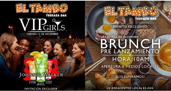 Apertura oficial de EL TAMBO la nueva terraza bar – Ibaguè