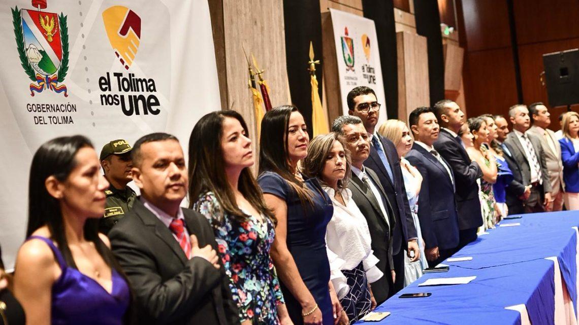 Gobernador del Tolima Ricardo Orozco  y  su  Gabinete