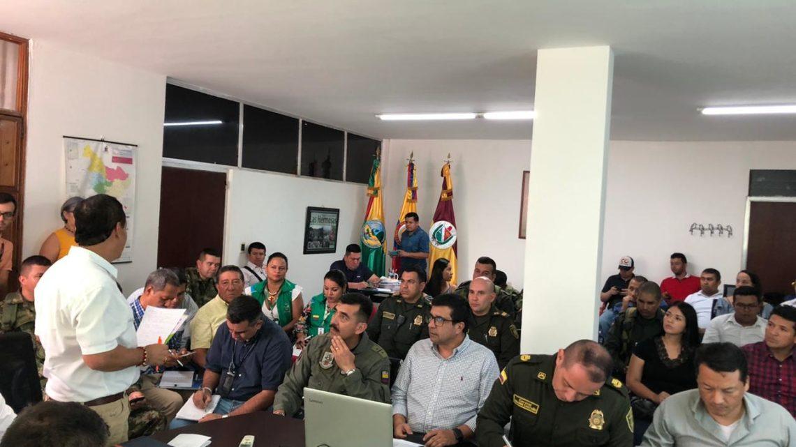 Consejo de seguridad en el sur del Tolima, gobierno anuncia acciones