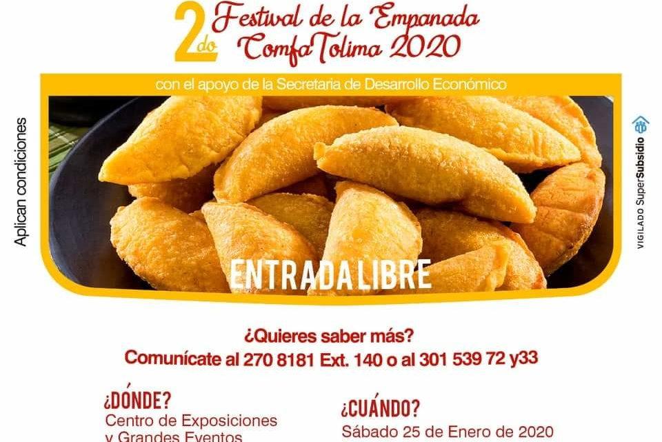 Ibagué se prepara para el 2do Festival de la Empanada Tolimense