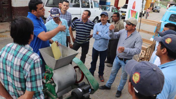 Proyecto de Cafés Especiales en Rovira recibieron módulos complementarios