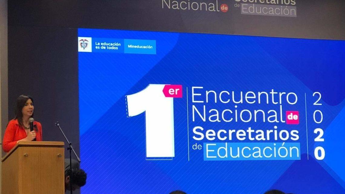 Tolima, en Primer Encuentro Nacional de Secretarios de Educación 2020