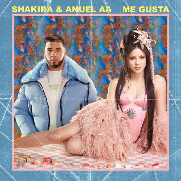 """GLOBAL SUPERSTAR SHAKIRA RELEASES NEW SINGLE""""ME GUSTA"""" WITH ANUEL AALISTEN HERE"""