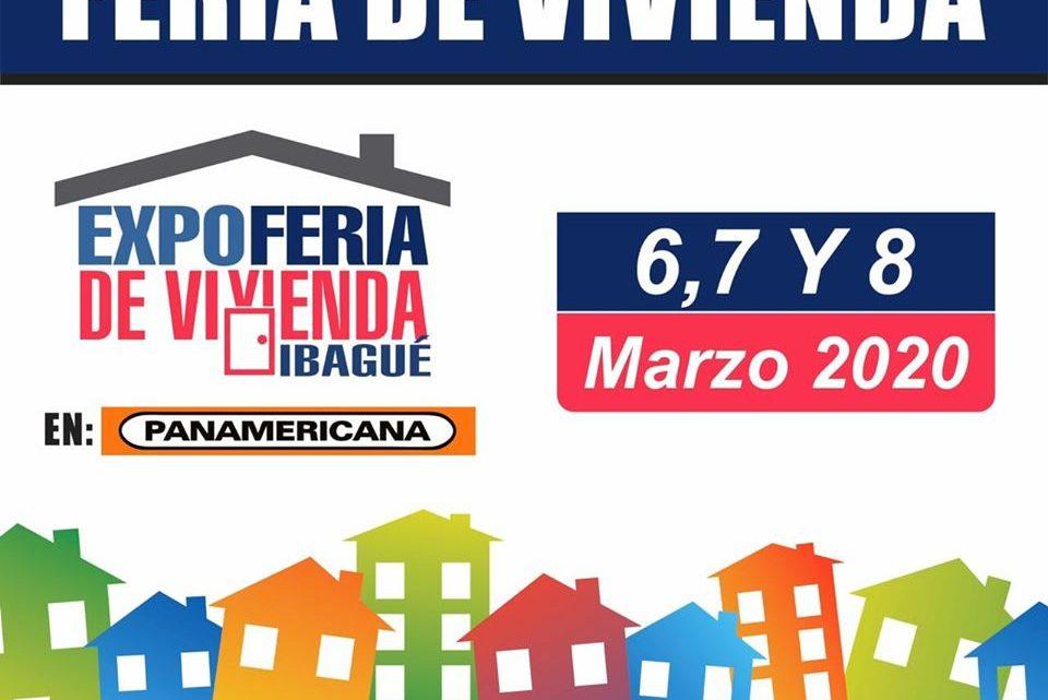 EXPOFERIA DE VIVIENDA EN IBAGUÉ  6,7,8 de marzo 2020