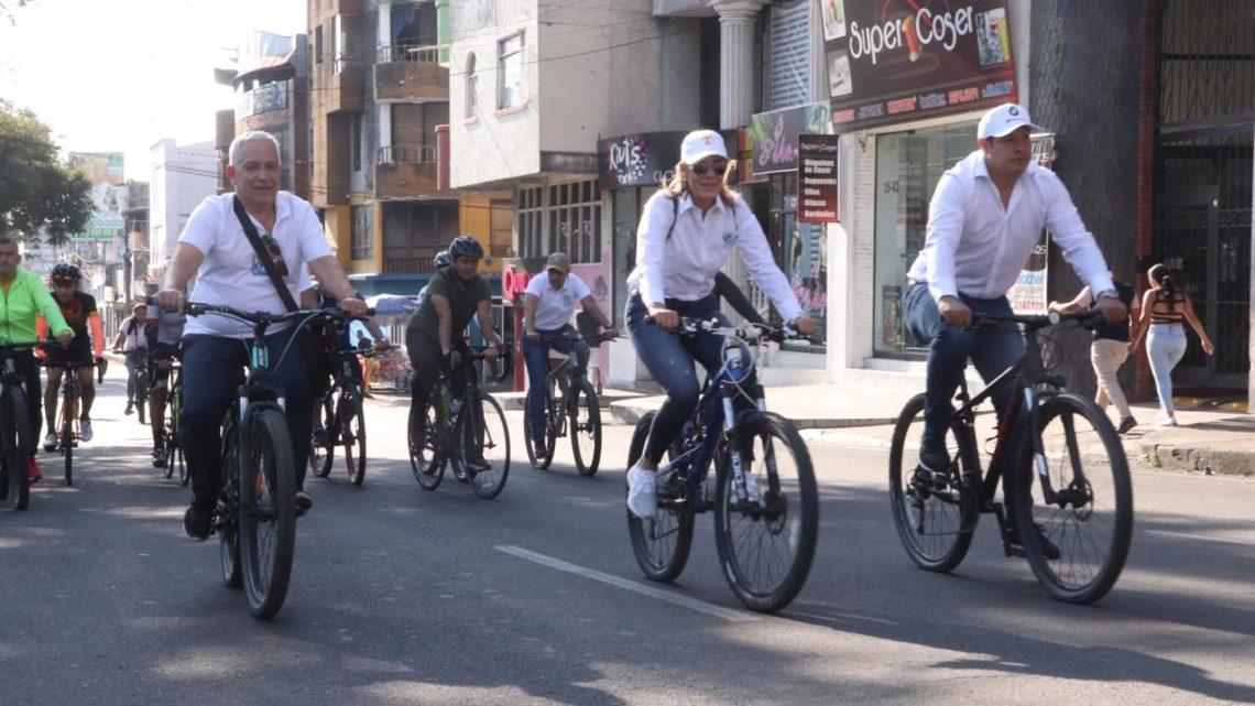 Así participó Cortolima en el Día sin carro y moto de Ibagué Ibaguè, 12 de febrero 2020