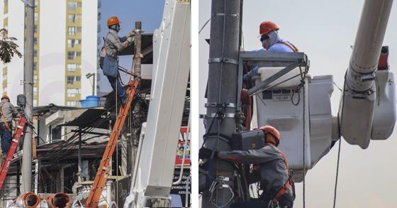 En Ibagué, Celsia intensifica repotenciación de circuitos y renovación de postes para mejorar servicio de energía
