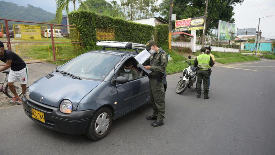 Autoridades han impuesto más de 150 comparendos por infringir aislamiento preventivo