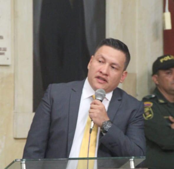 Iván Darío Delgado Triana es el nuevo Contralor de Ibagué.