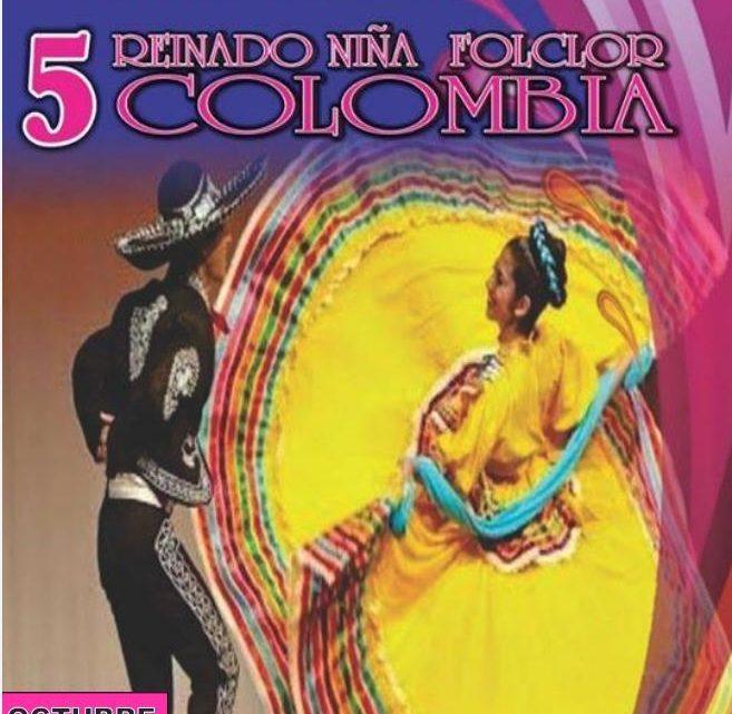 Niña Folclor Colombia 9,10 y 11 de octubre en el marco del cumpleaños 470