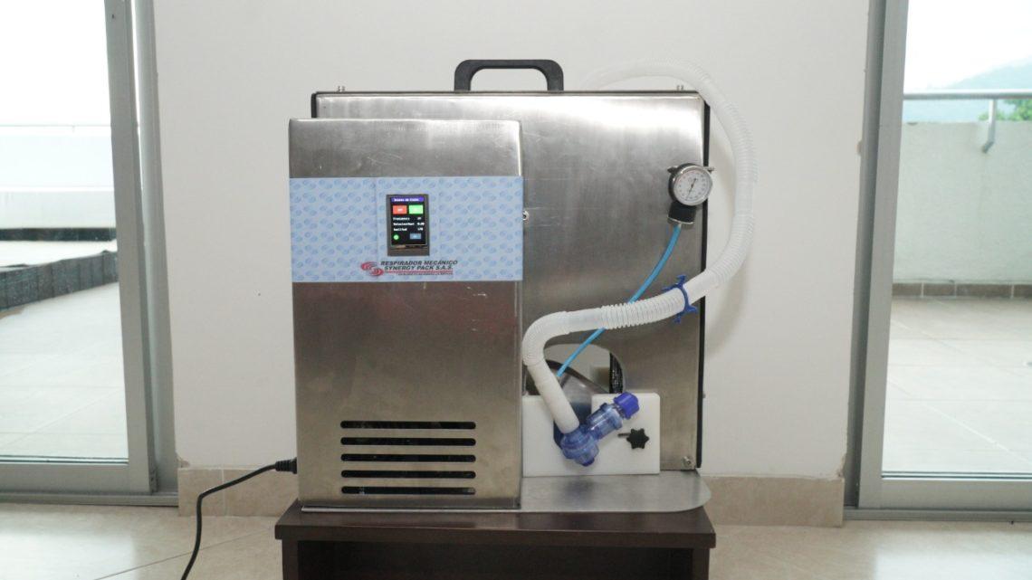 Empresa ibaguereña diseñó respirador mecánico para pacientes con Covid-19