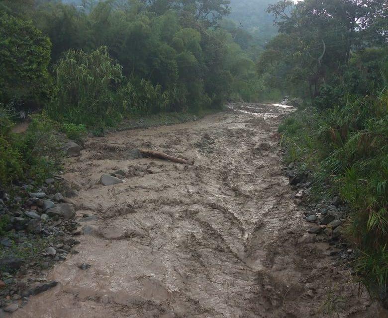 Normalidad en la captación del río Combeima y en el suministro de agua para sus usuarios