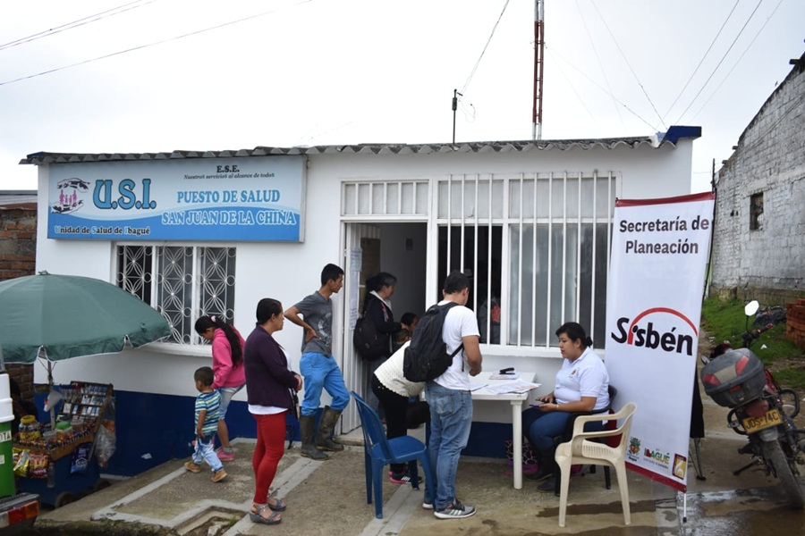 Habilitan diecinueve puestos de salud en zona rural de Ibagué