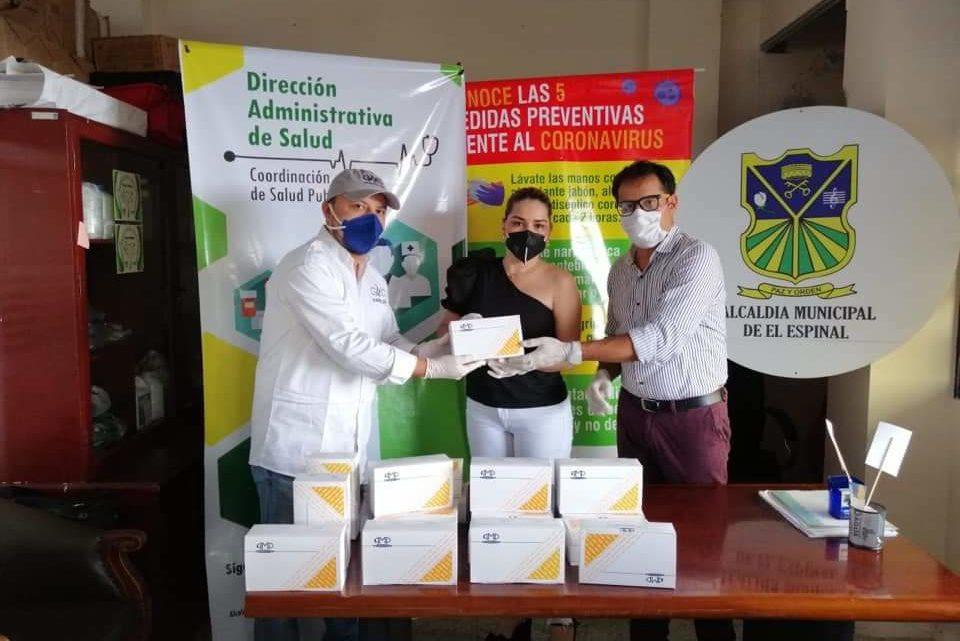 Las pruebas rápidas COVID-19 compradas por la  Alcaldía del Espinal cumple requisitos INVIMA