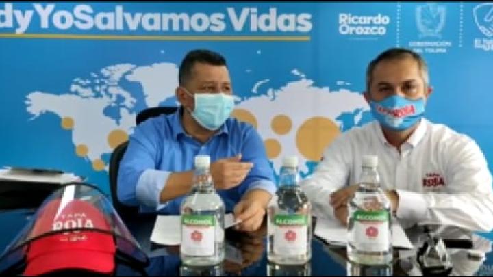 La Fábrica de Licores del Tolima ofrece alcohol antiséptico con registro Invima