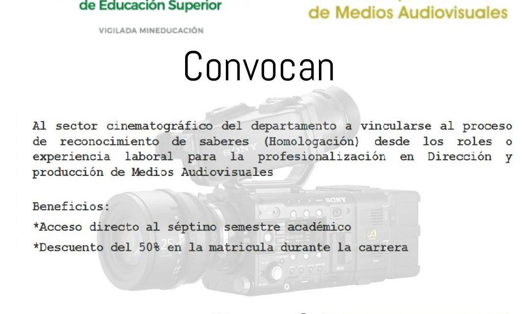 Profesionalización del sector Cine y Audiovisuales