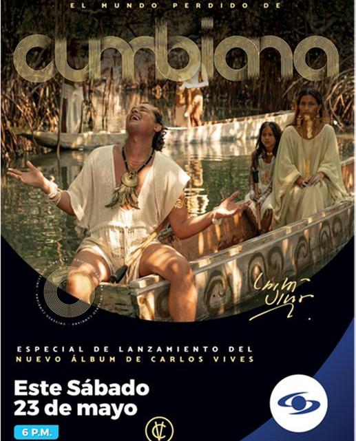 'EL MUNDO PERDIDO DE CUMBIANA' ESTE 23 DE MAYO A LAS 6:00 P.M.