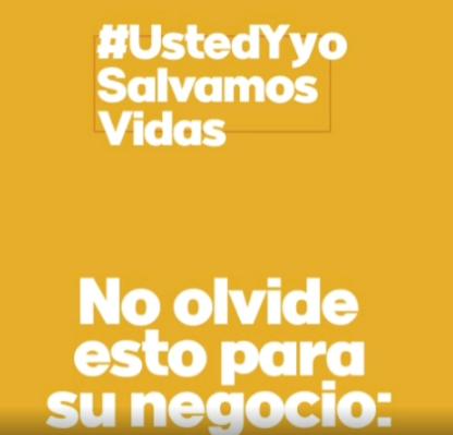 #UstedYyoSalvamosVidas