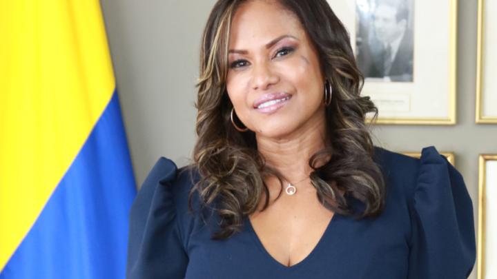 La abogada tumaqueña, Ligia Stella Cháves Ortiz viceministra de Relaciones Laborales e Inspección