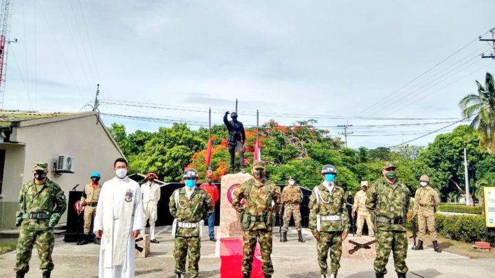 Día de los Héroes de la Nación y sus Familias, en la Sexta Brigada del Ejército Nacional