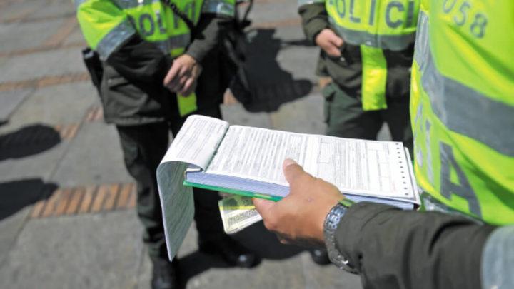 Impusieron 236 comparendos en puente de San Pedro en Ibague Tolima