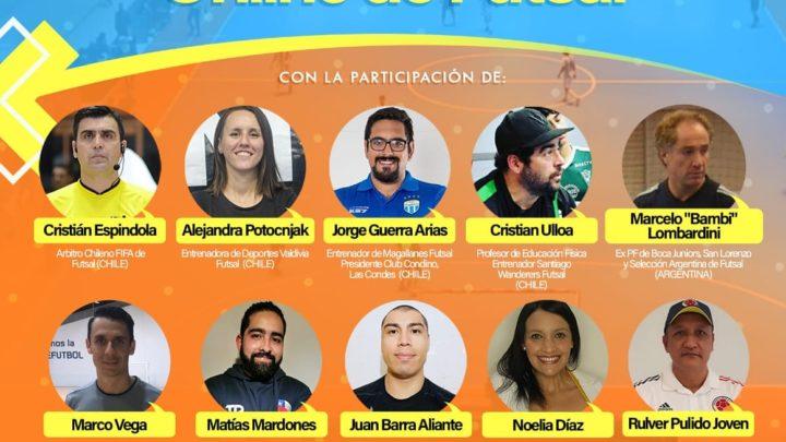 Este Jueves 30 de Julio al 1 de Agosto,  1er Simposio Internacional Online de Futsa