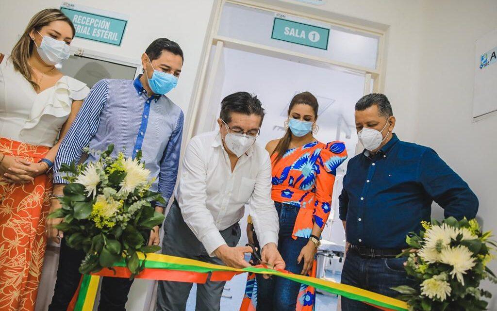 Ministro de Salud inauguró área de quirófano del hospital San Francisco