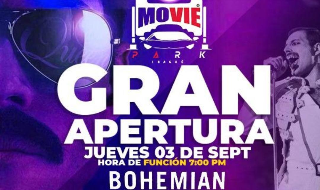 Autocine en Ibagué: Movie Park 11-11