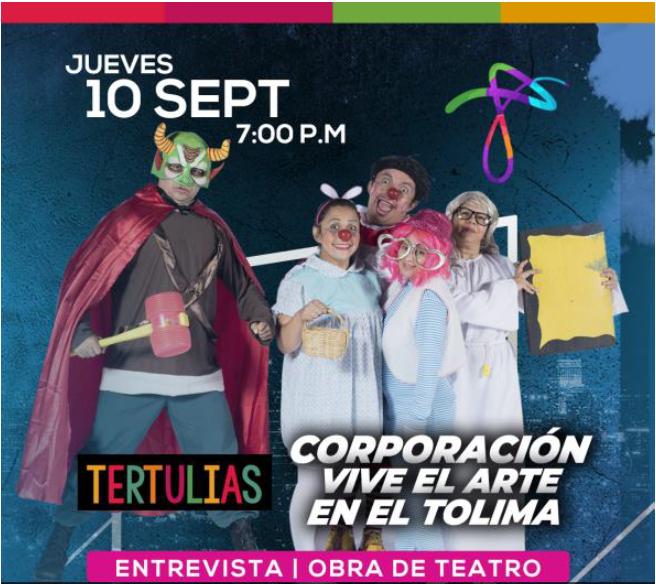 Títeres, teatro, música y danza virtual en la agenda cultural de los tolimenses