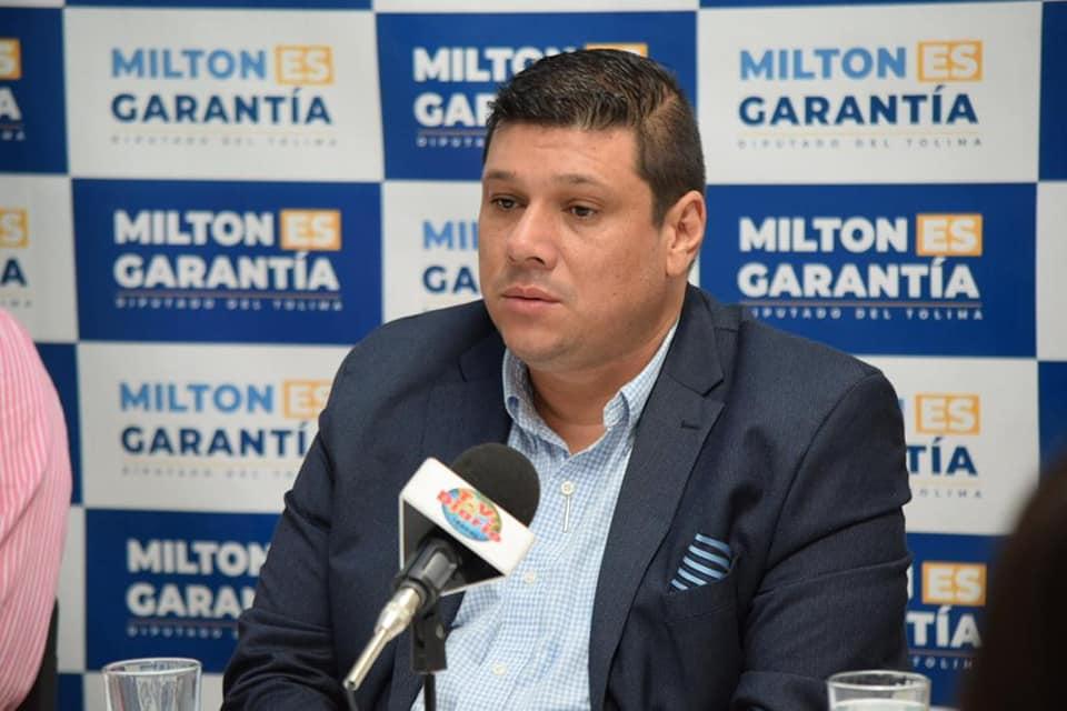 Diputado Milton Restrepo presenta  20 proyectos que benefician Tolima.