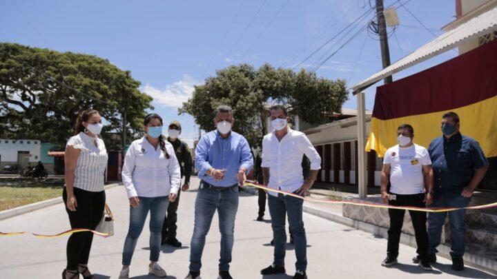 Turistas: San Luís Tolima estrenas vías urbanos.