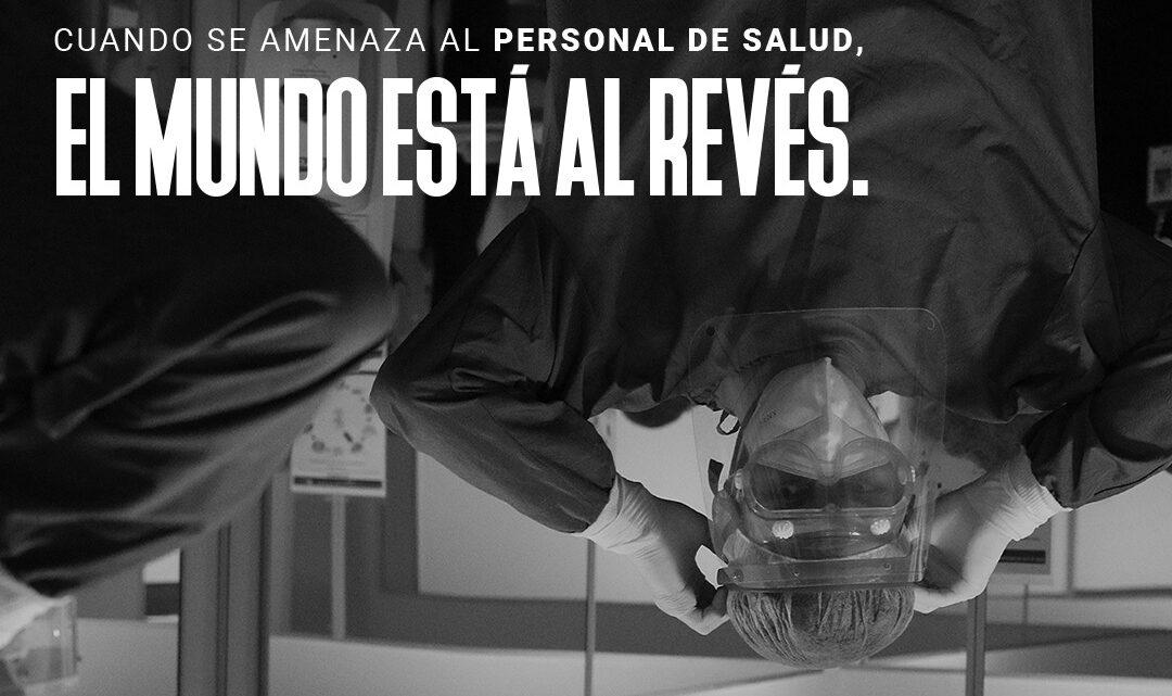 #ElMundoEstáAlRevés Campaña por el respeto a la Misión Médica