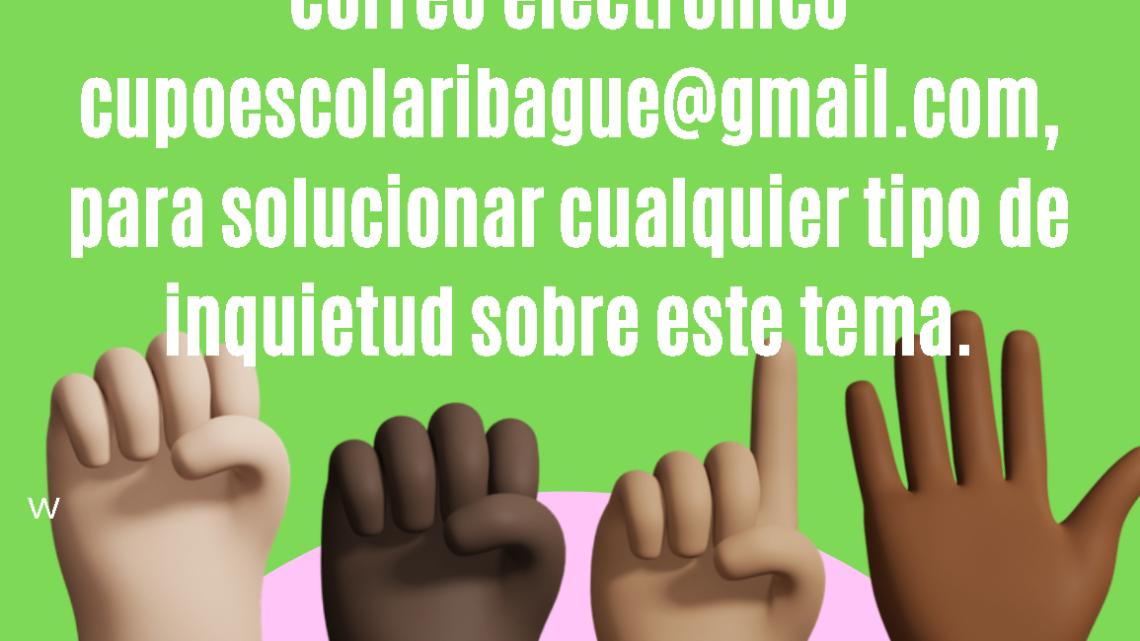 Inician las inscripción en línea para cupos educativos del año 2021 en Ibagué