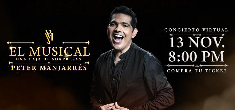 PETER MANJARRÉS El Musical: Una Caja De Sorpresas