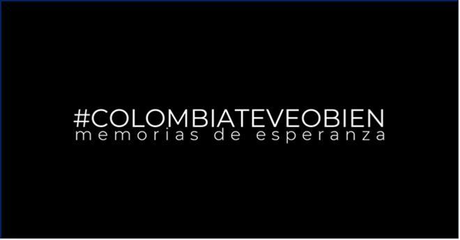 CARACOL TELEVISIÓN LANZÓ #COLOMBIATEVEOBIEN MEMORIAS DE ESPERANZA