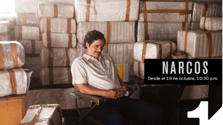 """Narcos"" la aclamada serie que llega a Canal 1"