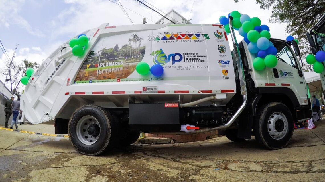 Nuevo carro compactador para Planadas y sus zonas rurales