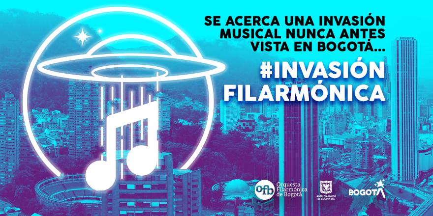 Una Invasión musical por toda Bogotá