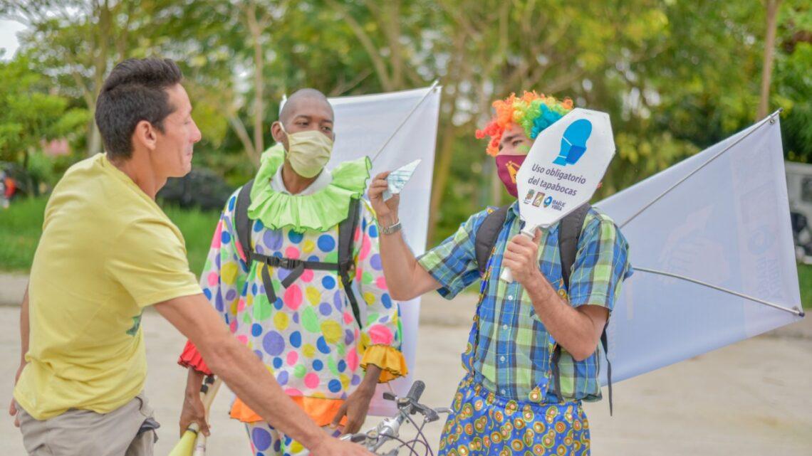 Turistas en Ibague se adelantan  jornadas de limpieza y entrega de elementos de protección