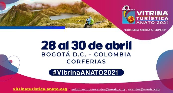 Felicitaciones: La Vitrina Turística de ANATO llegará con fuerza en abril de 2021