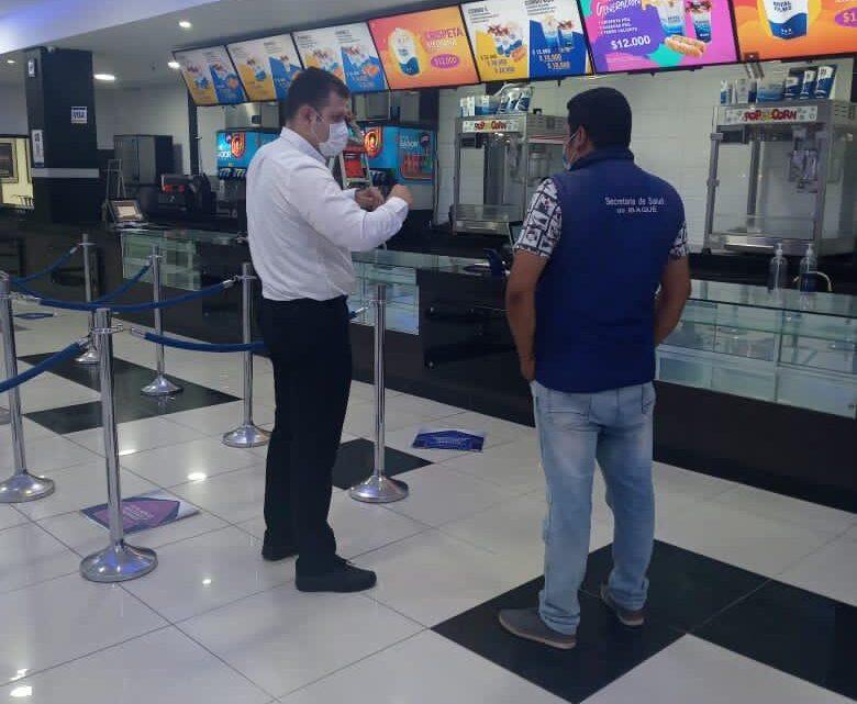 Turistas: Salas de cine de Ibagué volverán a prestar sus servicios