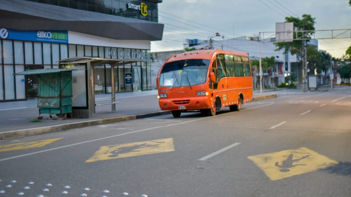 Amplían horario transporte público en Ibagué por el día sin IVA