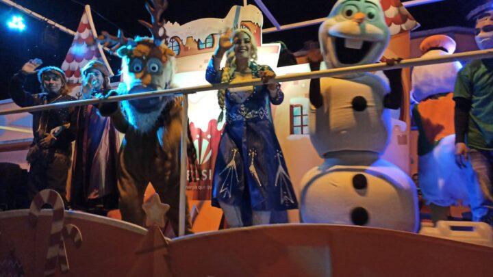 Nuevo cronograma del Desfile de Navidad, más de 3.000 personas ya han disfrutado de su magia