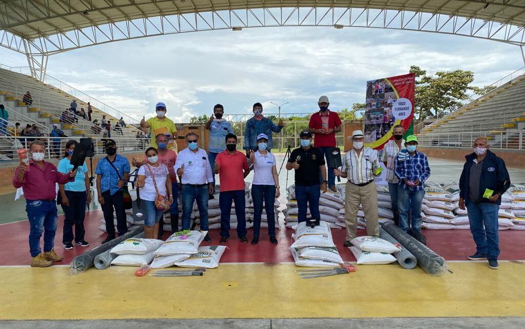 Seguridad alimentaria para familias víctimas del sur del Tolima