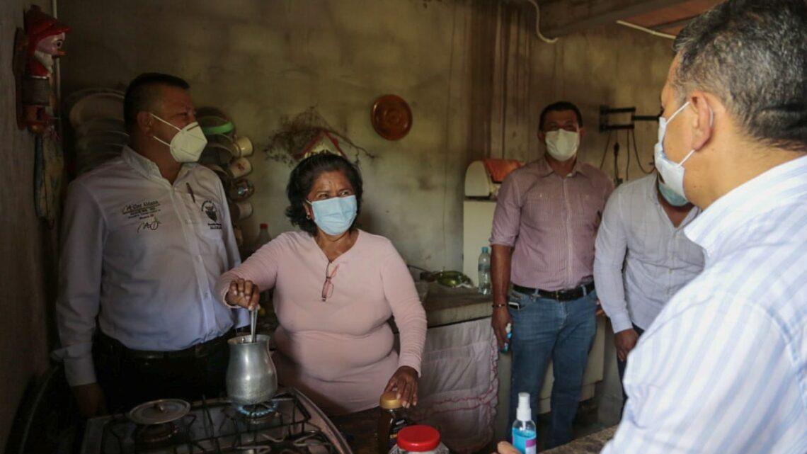 Turistas: Ataco Tolima  132 viviendas  ya tiene instalación  gas.