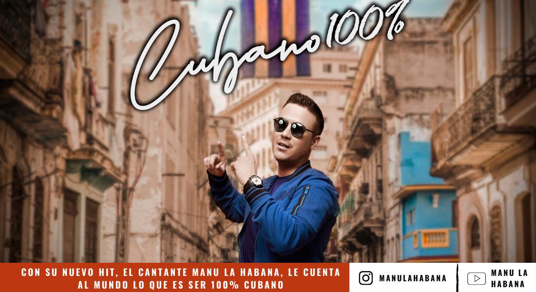Nuevo hit, el cantante Manu La Habana