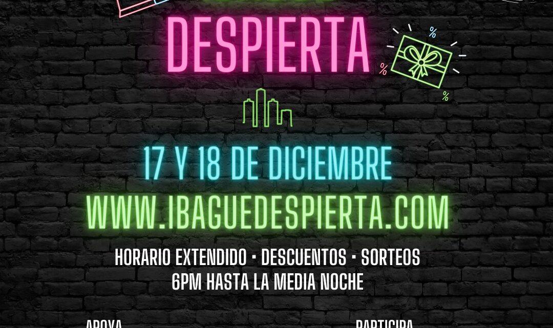 Jueves 17 y Viernes 18 de diciembre llega Ibagué Despierta