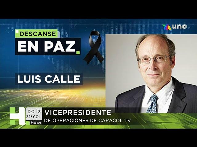 Luis Calle, vicepresidente de Operaciones de Caracol